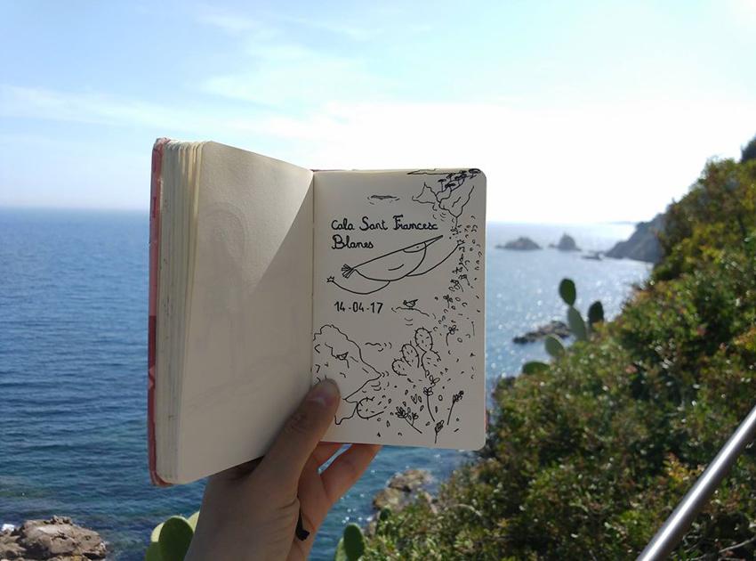 travel diary Blanes