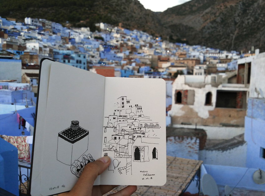 sketchbook Morocco