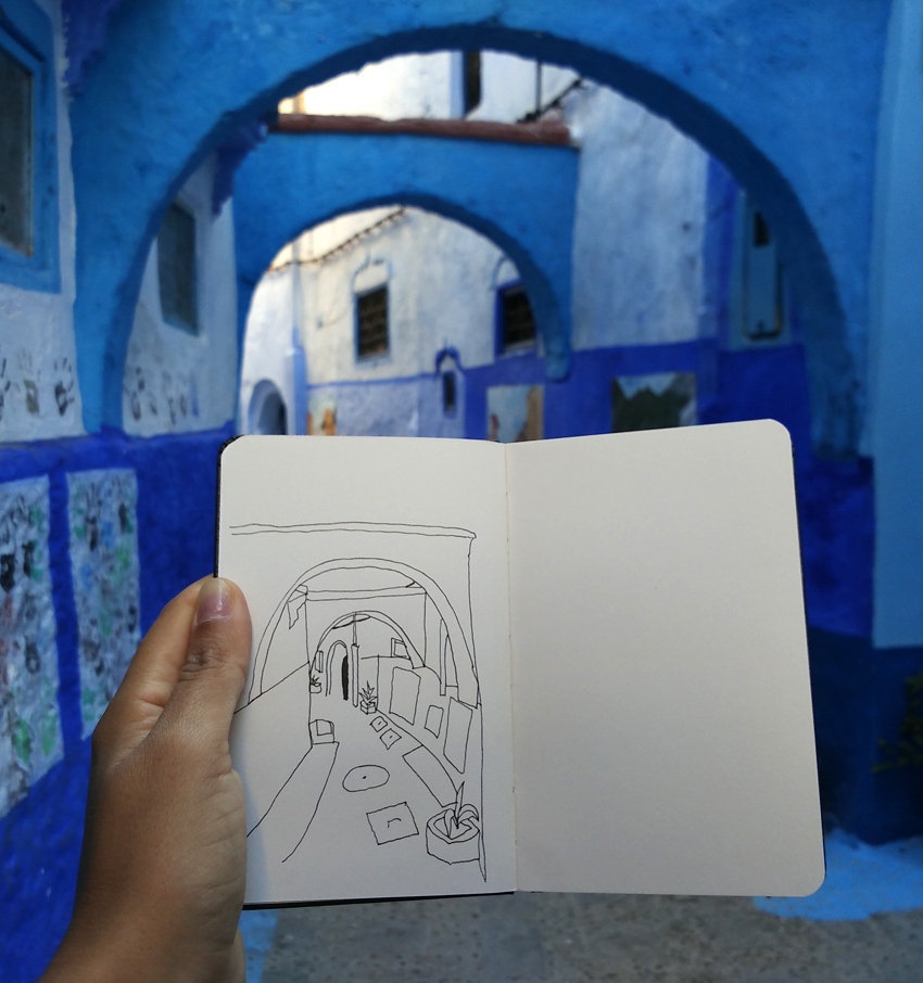 travel diary Chefchaouen