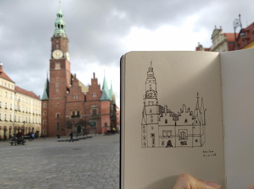 sketchbook Wroclaw