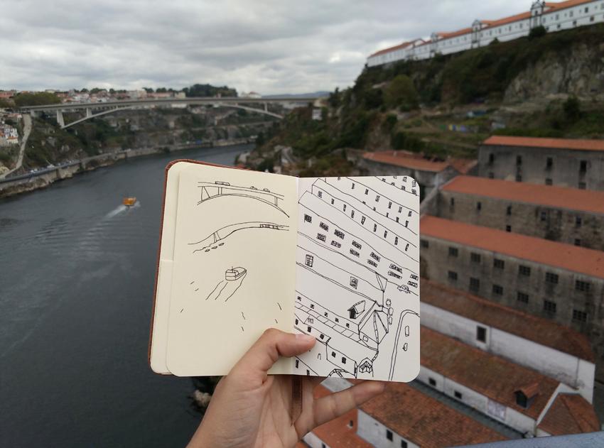 travel diary Oporto