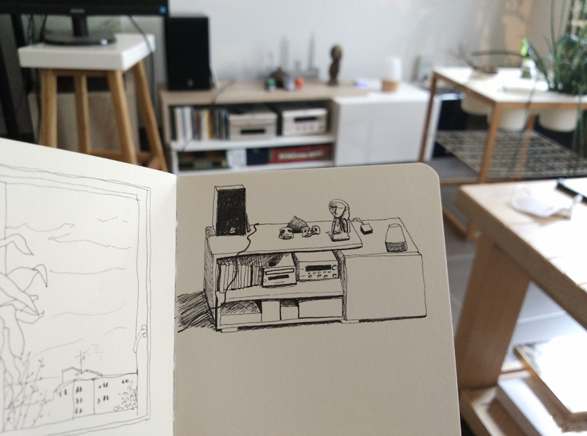 sketchbook interior