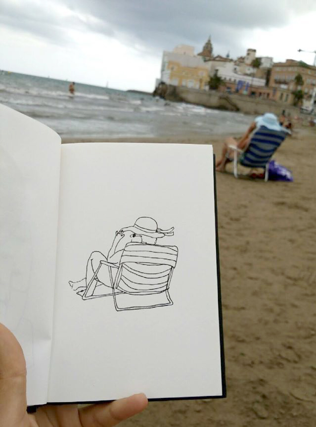 travel diary Sitges