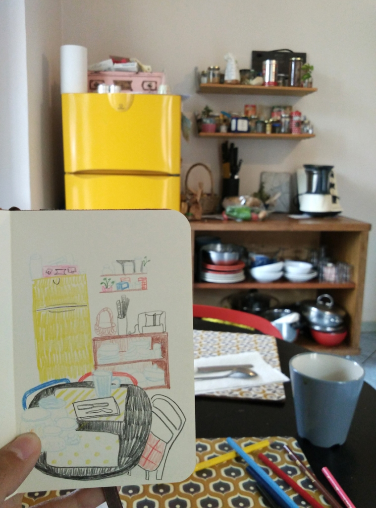 sketchbook kitchen