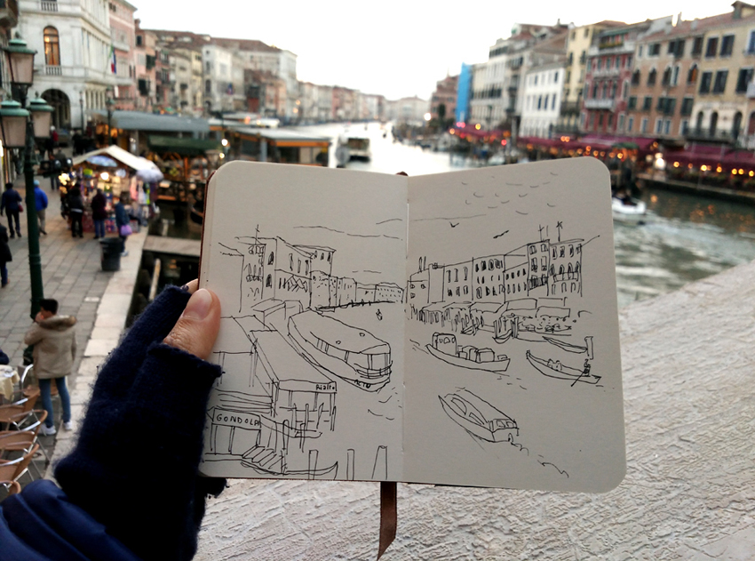 travel diary Venezia