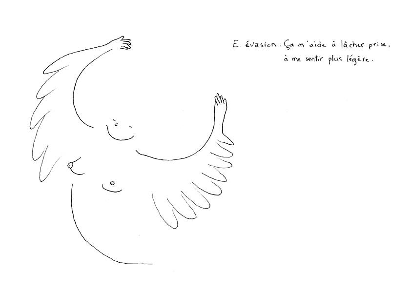 illustration évasion