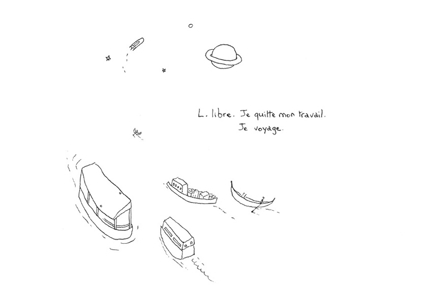 illustration voyage
