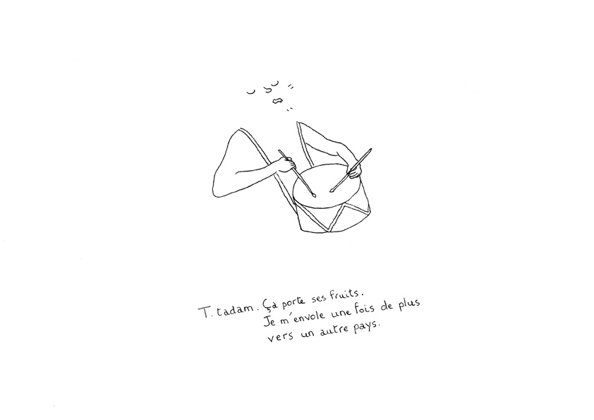illustration tambour